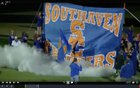 Southaven Chargers Boys Varsity Football Fall 18-19 team photo.
