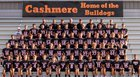 Cashmere Bulldogs Boys Varsity Football Fall 18-19 team photo.