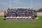 Stone Ridge Christian Knights Boys Varsity Football Fall 18-19 team photo.