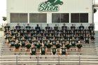 Shenendehowa Plainsmen Boys Varsity Football Fall 18-19 team photo.