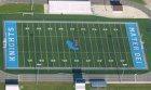 Mater Dei Knights Boys Varsity Football Fall 18-19 team photo.