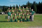 Darrington Loggers Boys Varsity Football Fall 18-19 team photo.