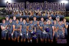Sentinel Spartans Boys Varsity Football Fall 18-19 team photo.