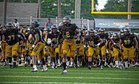 Colquitt County Packers Boys Varsity Football Fall 18-19 team photo.