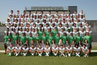 Upland Highlanders/Scots Boys Varsity Football Fall 18-19 team photo.