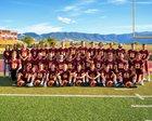 Big Horn Rams Boys Varsity Football Fall 18-19 team photo.