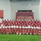 Carthage Bulldogs Boys Varsity Football Fall 18-19 team photo.