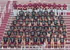 Fulton Falcons Boys Varsity Football Fall 18-19 team photo.