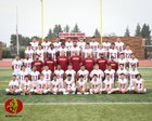 Ontario Jaguars Boys Varsity Football Fall 18-19 team photo.