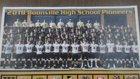 Boonville Pioneers Boys Varsity Football Fall 18-19 team photo.