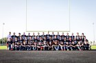 Milford Tigers Boys Varsity Football Fall 18-19 team photo.