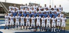 Brevard Blue Devils Boys Varsity Football Fall 18-19 team photo.