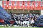 Ryan Raiders Boys Varsity Football Fall 18-19 team photo.