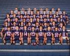 Ellensburg Bulldogs Boys Varsity Football Fall 18-19 team photo.