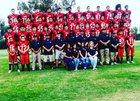 Norte Vista Braves Boys Varsity Football Fall 18-19 team photo.