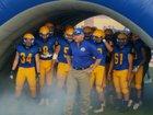 Sahuarita Mustangs Boys Varsity Football Fall 18-19 team photo.