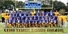 Largo Packers Boys Varsity Football Fall 18-19 team photo.