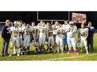 Cornerstone Christian Cougars Boys Varsity Football Fall 18-19 team photo.