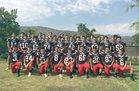 Carpinteria Warriors Boys Varsity Football Fall 18-19 team photo.