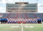 Parkview Patriots Boys Varsity Football Fall 18-19 team photo.