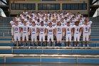 Harrison Goblins Boys Varsity Football Fall 18-19 team photo.