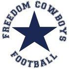 Freedom Cowboys Cowboys Boys Varsity Football Fall 18-19 team photo.