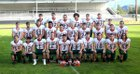 Morton/White Pass Timberwolves Boys Varsity Football Fall 18-19 team photo.