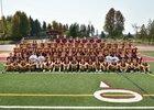 White River Hornets Boys Varsity Football Fall 18-19 team photo.