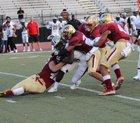 Johns Creek Gladiators Boys Varsity Football Fall 18-19 team photo.