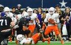 Aledo Bearcats Boys Varsity Football Fall 18-19 team photo.