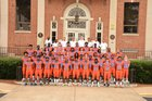 Columbus Blue Devils Boys Varsity Football Fall 18-19 team photo.