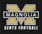 Magnolia Sentinels Boys Varsity Football Fall 18-19 team photo.