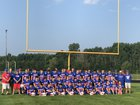 Jay County Patriots Boys Varsity Football Fall 18-19 team photo.