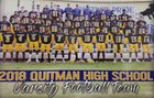 Quitman Panthers Boys Varsity Football Fall 18-19 team photo.