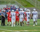Long Reach Lightning Boys Varsity Football Fall 18-19 team photo.