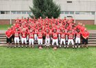 Easton Rovers Boys Varsity Football Fall 18-19 team photo.