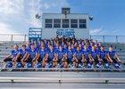 Centerville Bulldogs Boys Varsity Football Fall 18-19 team photo.