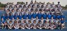 Folsom Bulldogs Boys Varsity Football Fall 18-19 team photo.