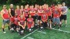 St. Albans Red Dragons Boys Varsity Football Fall 18-19 team photo.