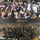Everglades Prep Academy Panther Boys Varsity Football Fall 18-19 team photo.