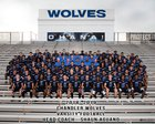 Chandler Wolves Boys Varsity Football Fall 18-19 team photo.