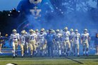 Vandebilt Catholic Terriers Boys Varsity Football Fall 18-19 team photo.