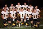 Pioneer Panthers Boys Varsity Football Fall 18-19 team photo.