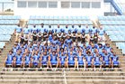 Meridian Wildcats Boys Varsity Football Fall 18-19 team photo.