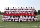 Clear Brook Wolverines Boys Varsity Football Fall 18-19 team photo.