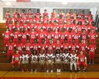 Abbeville Wildcats Boys Varsity Football Fall 18-19 team photo.