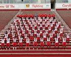 Camden Fairview Cardinals Boys Varsity Football Fall 18-19 team photo.