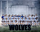 Boone Grove Wolves Boys Varsity Football Fall 18-19 team photo.
