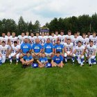 Morley Stanwood Mohawks Boys Varsity Football Fall 18-19 team photo.