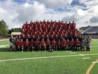 Cherokee Warriors Boys Varsity Football Fall 18-19 team photo.